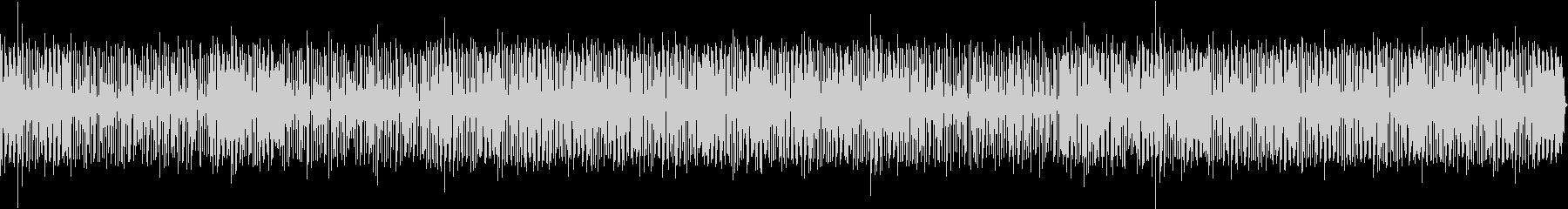バンドサウンド軽快なファンクBGMの未再生の波形