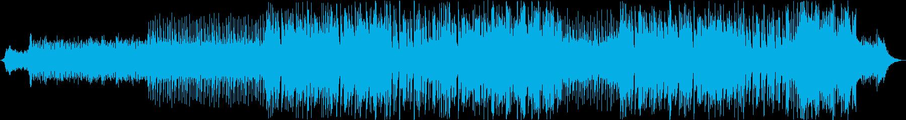 環境音を取り入れたスペイシーなエレクトロの再生済みの波形
