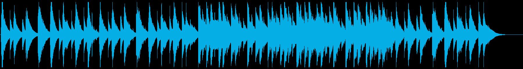 琴を主軸にした、和風でスローな旋律の再生済みの波形