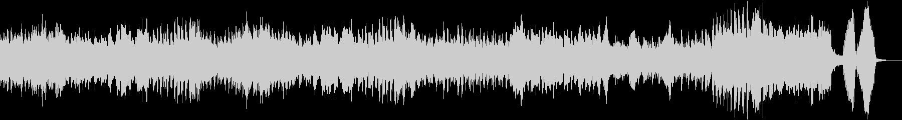 クープランの墓「前奏曲」/ラヴェルの未再生の波形