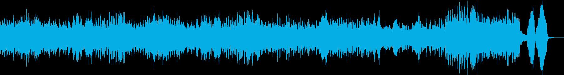 クープランの墓「前奏曲」/ラヴェルの再生済みの波形