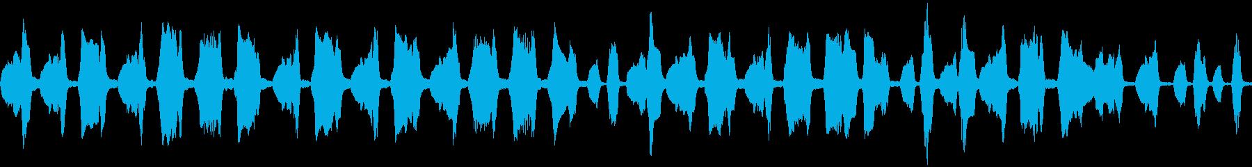フルートのほのぼのとしたかわいい曲の再生済みの波形