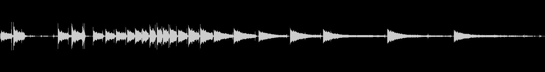 生音エレキギター6弦チューニング3の未再生の波形
