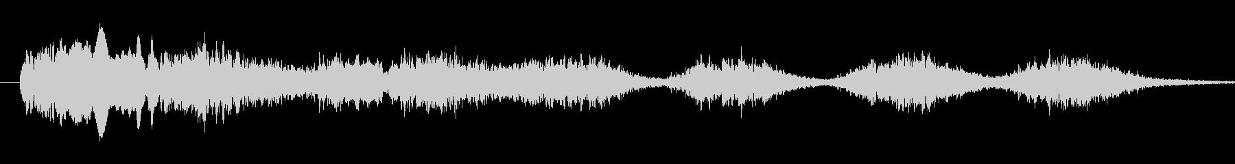 恐怖シリーズ21.怖い鳥の声(複数1)の未再生の波形