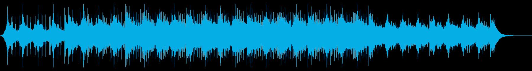 ウェディング3 Dショート、キラキラの再生済みの波形