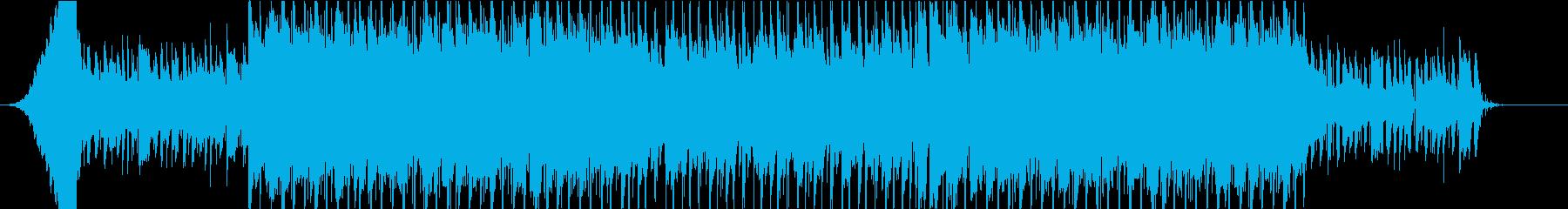 EDMっぽいシティポップの再生済みの波形