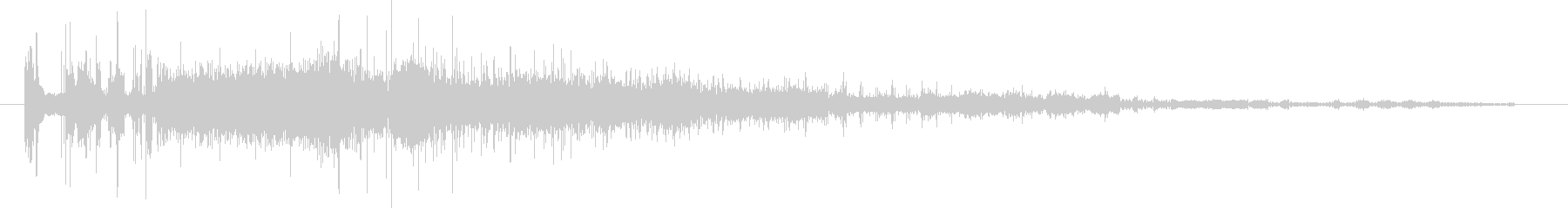 CINEMATIC BEEP 08の未再生の波形