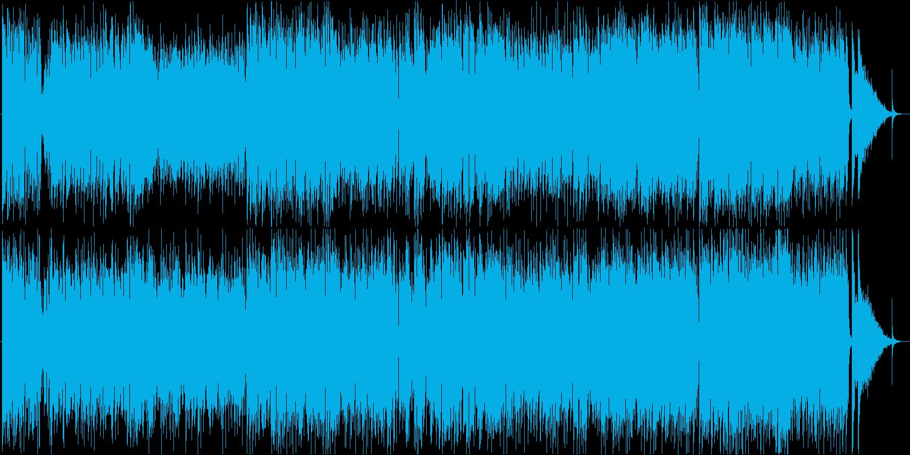 昼下がりのカフェジャズ・生演奏サックス の再生済みの波形