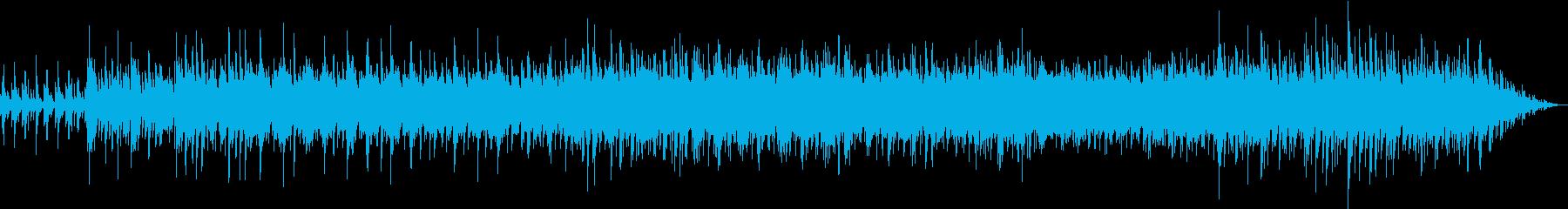 出会いと別れの情景ピアノメロディーの再生済みの波形