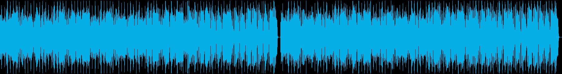スキップしたくなるようなほのぼの口笛の再生済みの波形