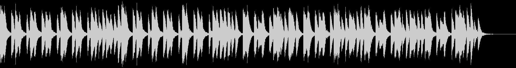 知育・料理・パズル・日常ピアノ13Aの未再生の波形