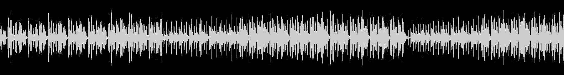 セクシー怪しいシンセBGM1 ループの未再生の波形