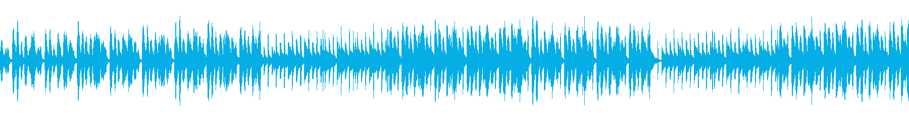 セクシー怪しいシンセBGM1 ループの再生済みの波形