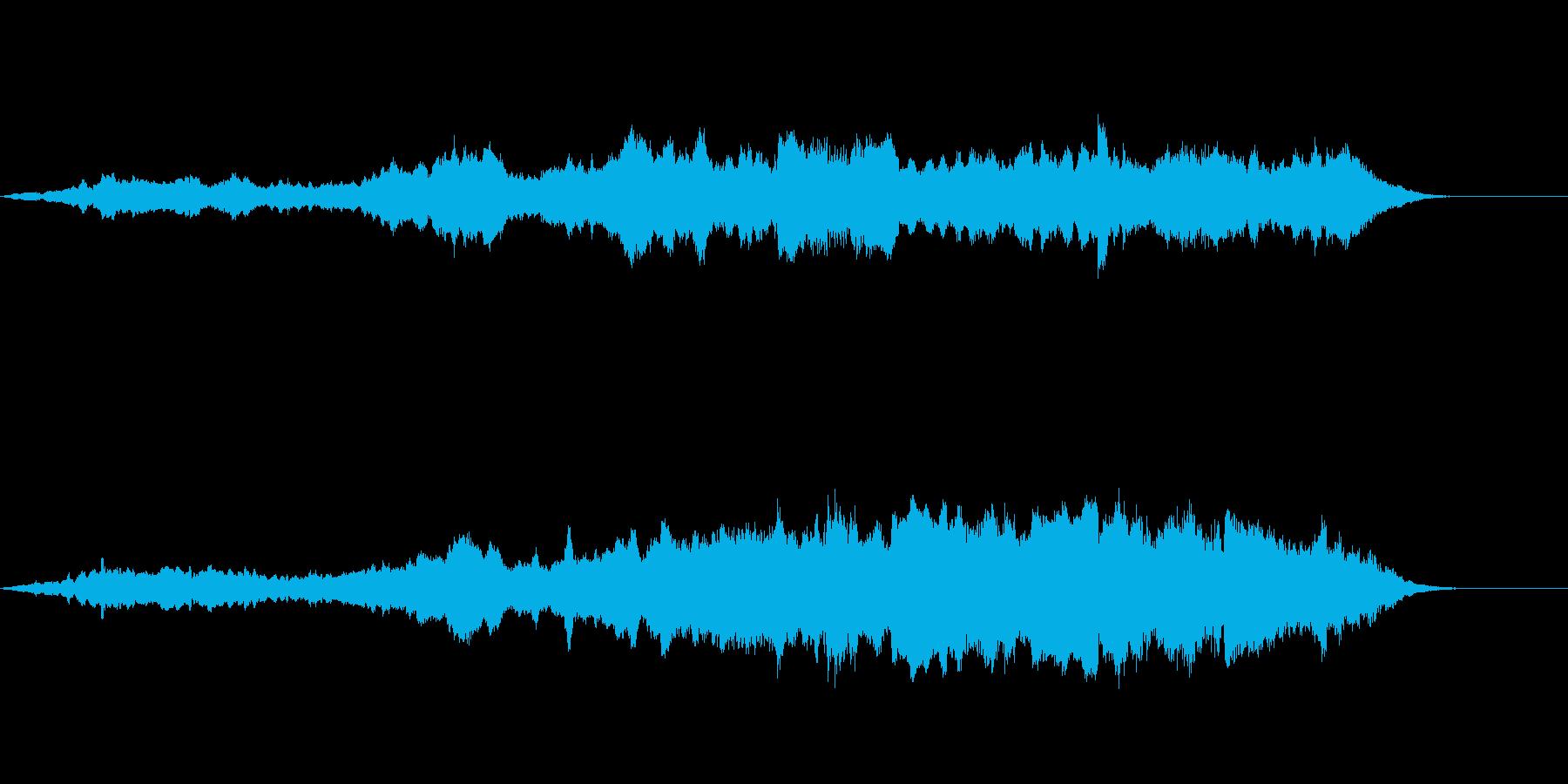 Dark_ホラーで怪しく神秘的-06の再生済みの波形