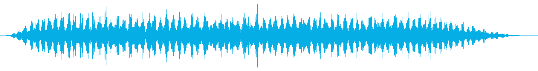 カエル/田舎/梅雨(10秒Ver.)の再生済みの波形