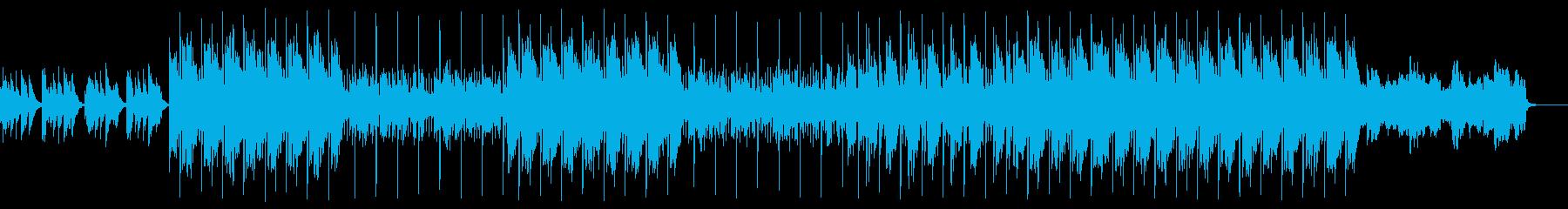 感動的 悲しい トラップの再生済みの波形