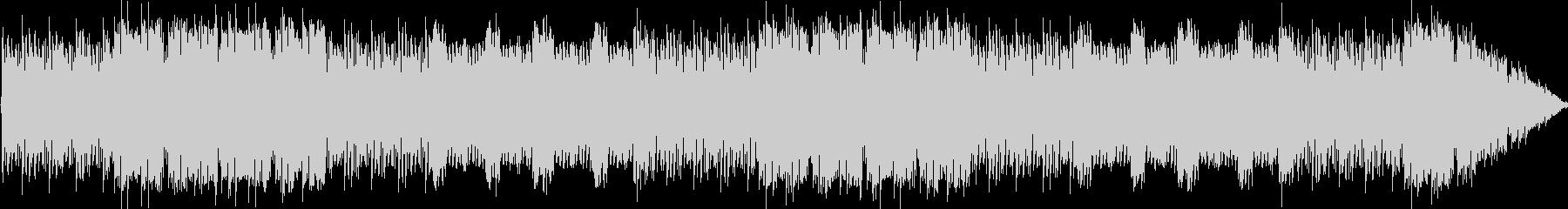 チップチューンによるフージョン系楽曲の未再生の波形