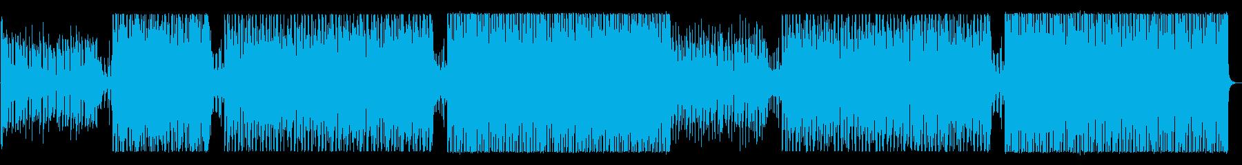 夏の水着の再生済みの波形