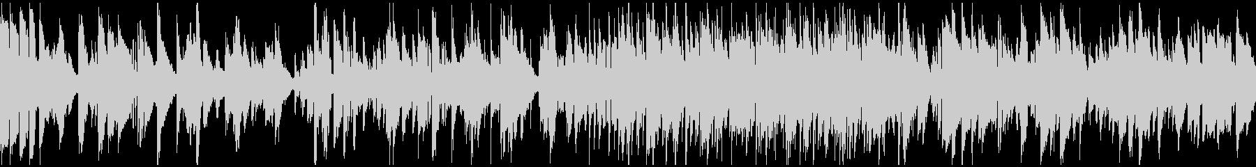 ソフトなリラックスジャズ ※ループ仕様版の未再生の波形