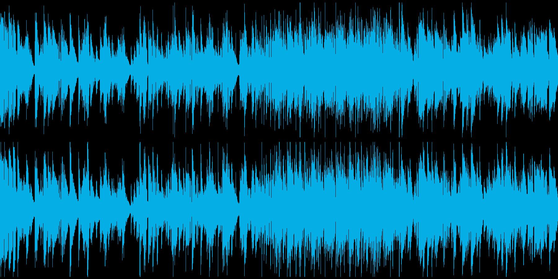 ソフトなリラックスジャズ ※ループ仕様版の再生済みの波形