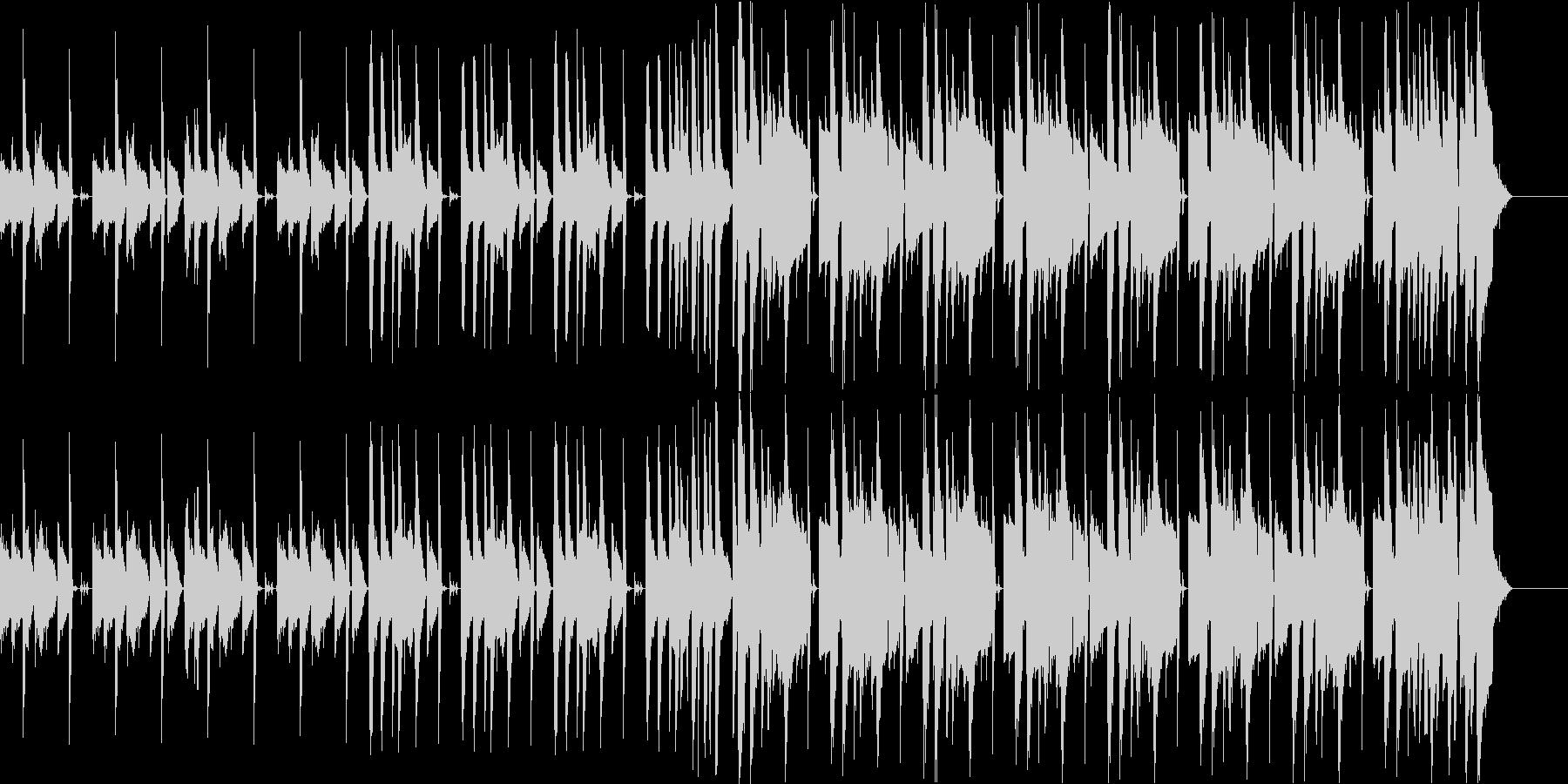 ピアノとボイスが印象的なHIPHOPの未再生の波形