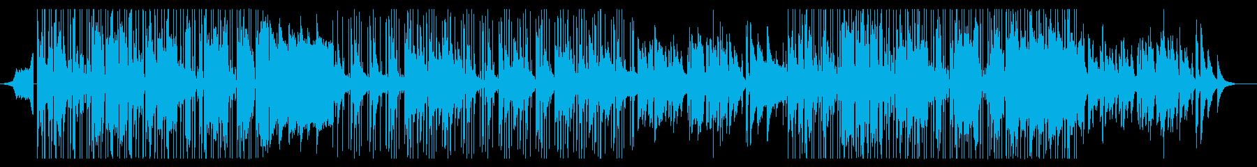 R&B,Soulの滑らかなグルーヴBGMの再生済みの波形