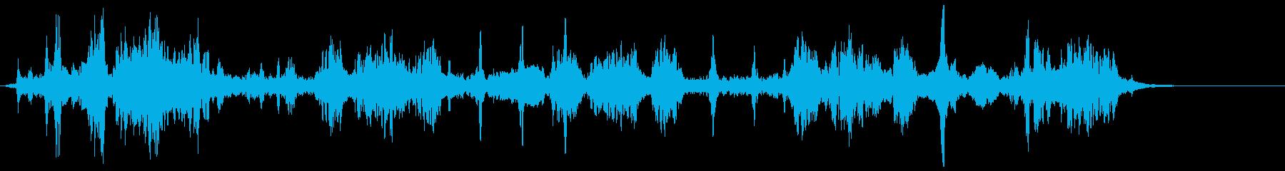 電波ノイズ 7の再生済みの波形
