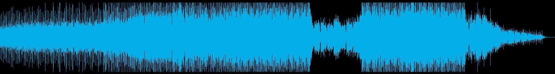 ワウギターカッティングを使ったハウスの再生済みの波形