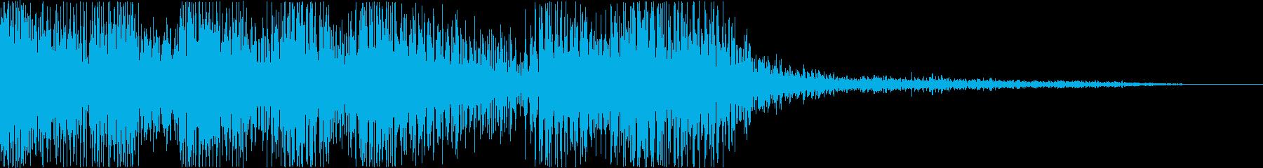 ポジティブで気持ちの良いファンク/...の再生済みの波形