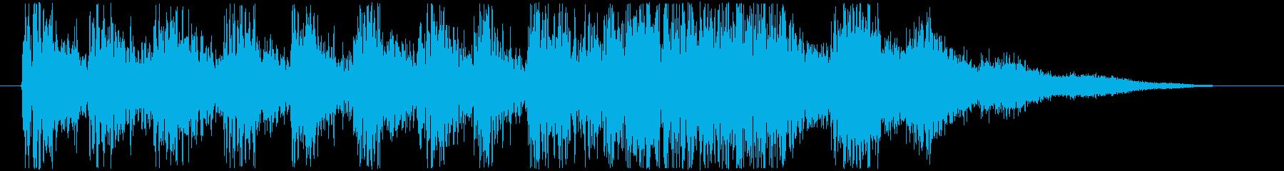 ドラゴンが飛び立つ時の効果音・SEの再生済みの波形