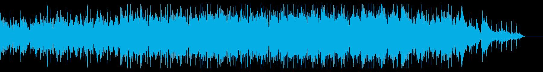 優しく幻想的な自然派エレクトロニカの再生済みの波形