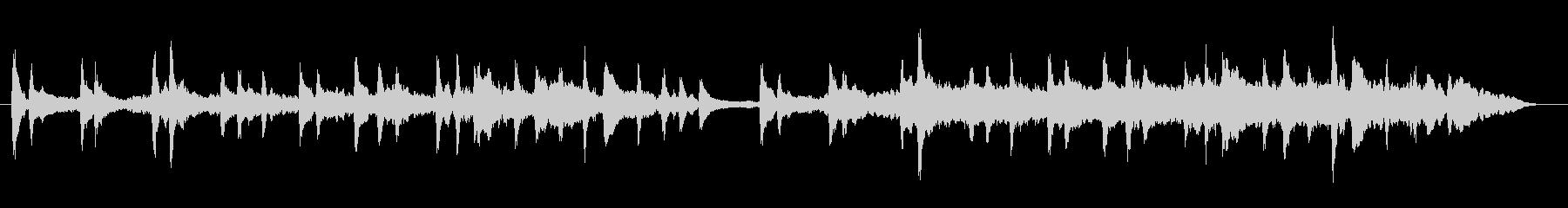 ファンタジーな癒しサウンドの未再生の波形