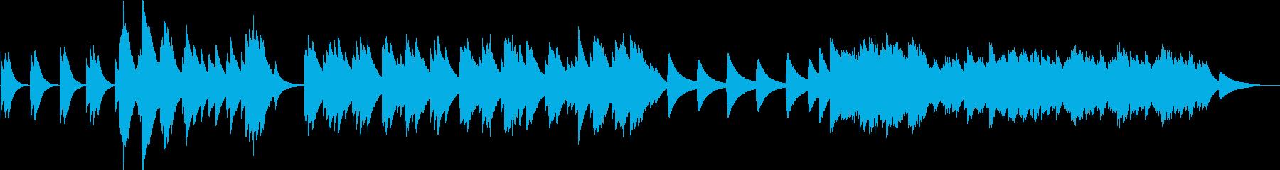 偉大なる揺り籠のベルの再生済みの波形
