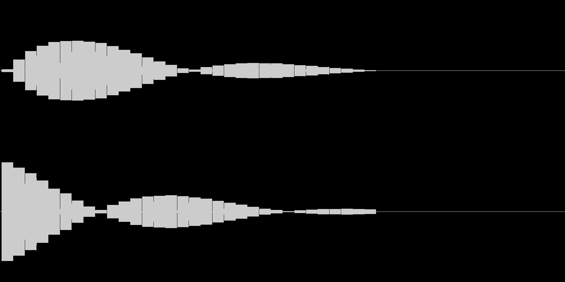 ピロリロ ピロリロの未再生の波形