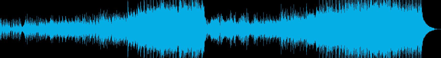 ピアノとアコギ・儚い演出・涙シーン A2の再生済みの波形