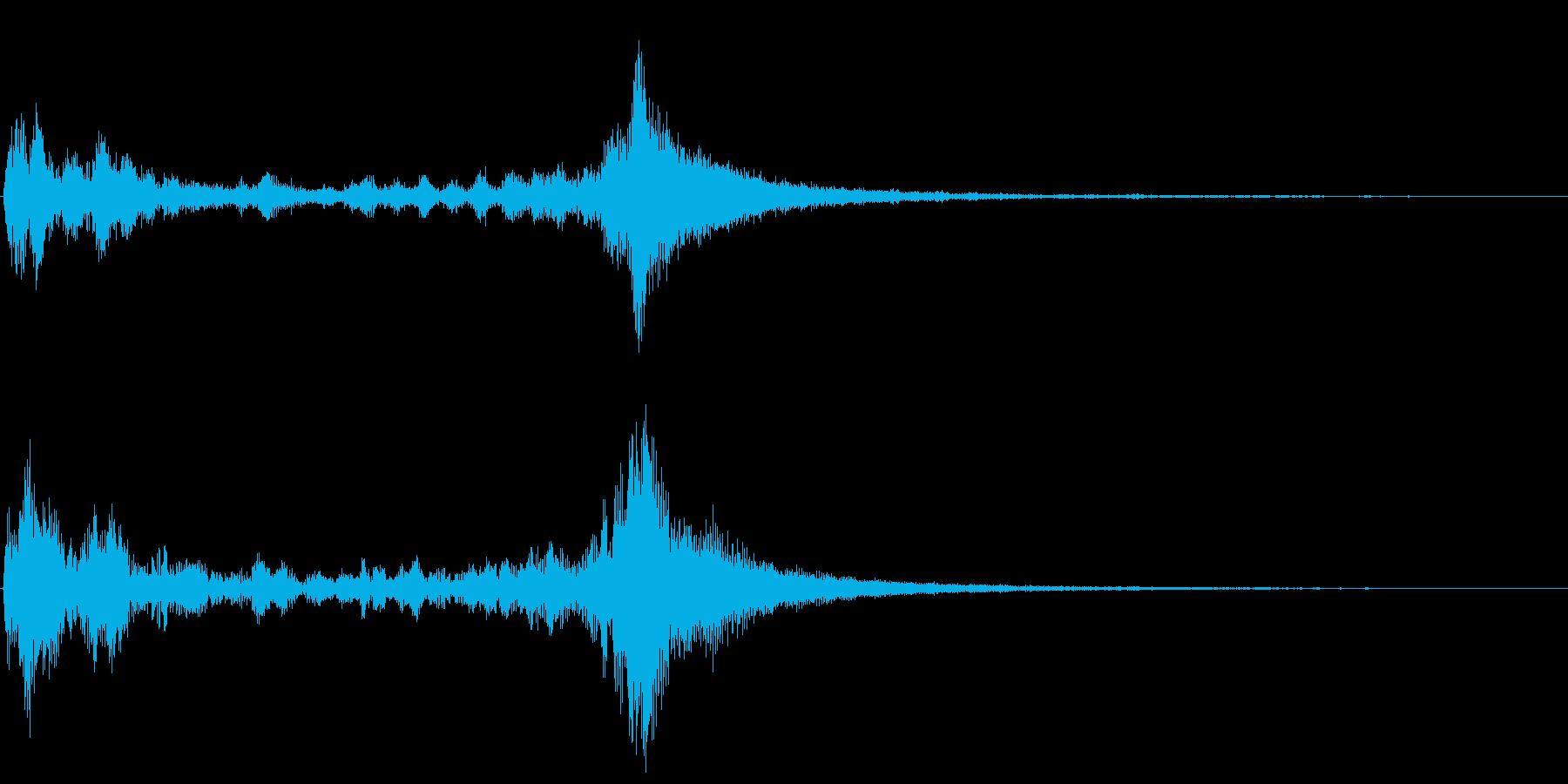 ティンパニのドラムロールです。の再生済みの波形
