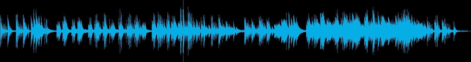 童謡「赤とんぼ」エモいチルピアノアレンジの再生済みの波形