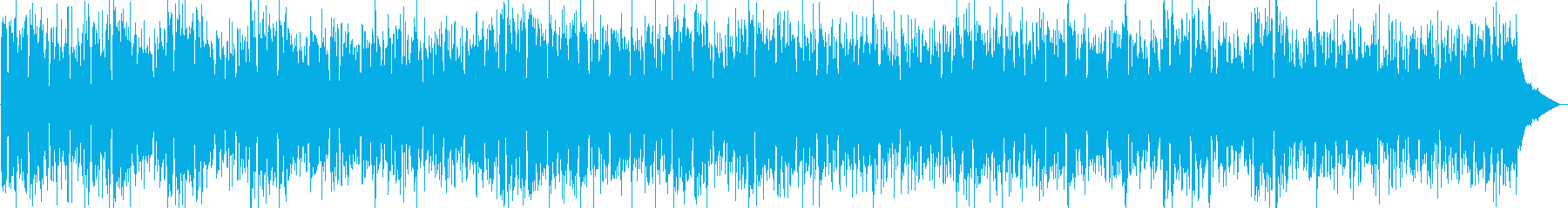 情熱的なラテンBGMの再生済みの波形