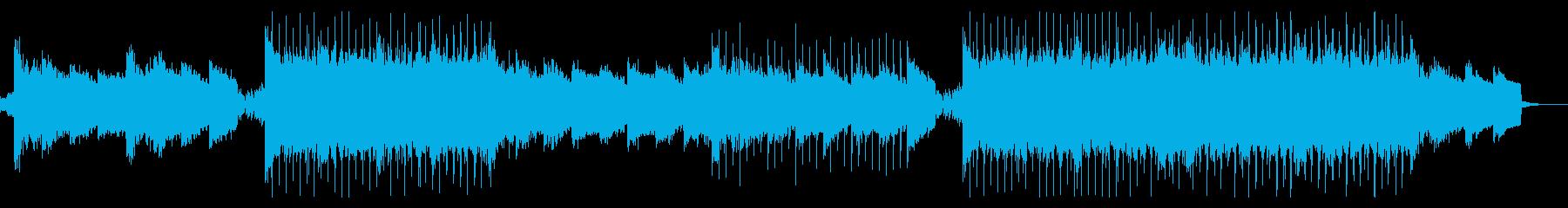 ピアノの旋律が美しい、エモバンドロックの再生済みの波形