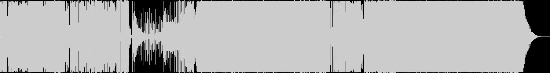 ボコーダーボイスが印象的なEDMの未再生の波形