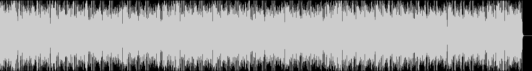 かわいいコミカル/イントロ8秒の未再生の波形