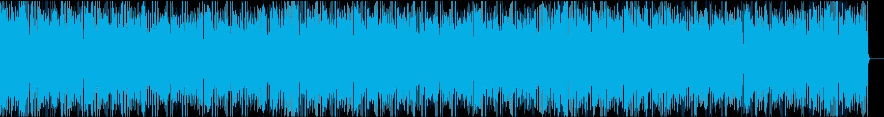 かわいいコミカル/イントロ8秒の再生済みの波形