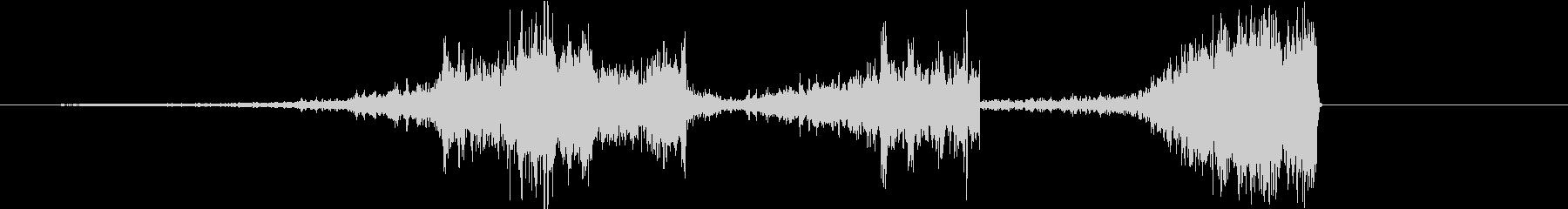 Video 巻戻し タイムリープ 効果音の未再生の波形