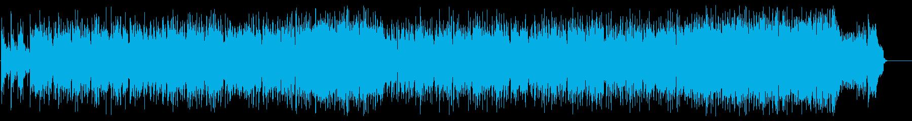 ナイーブなAOR風のポップスの再生済みの波形