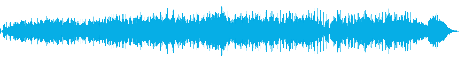 クールでアダルトなエレクトロニカの再生済みの波形