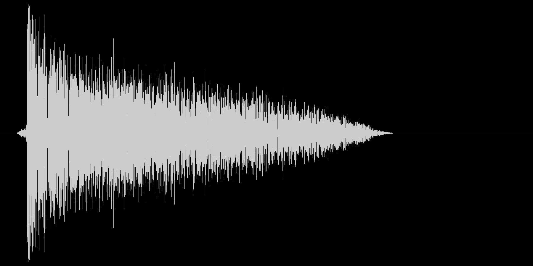 ゲーム(ファミコン風)爆発音_047の未再生の波形