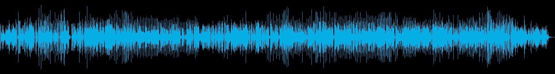レトロゲーム的な迷宮BGMの再生済みの波形