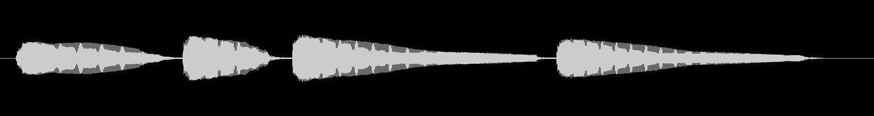 生音エレキギター3弦チューニング3の未再生の波形