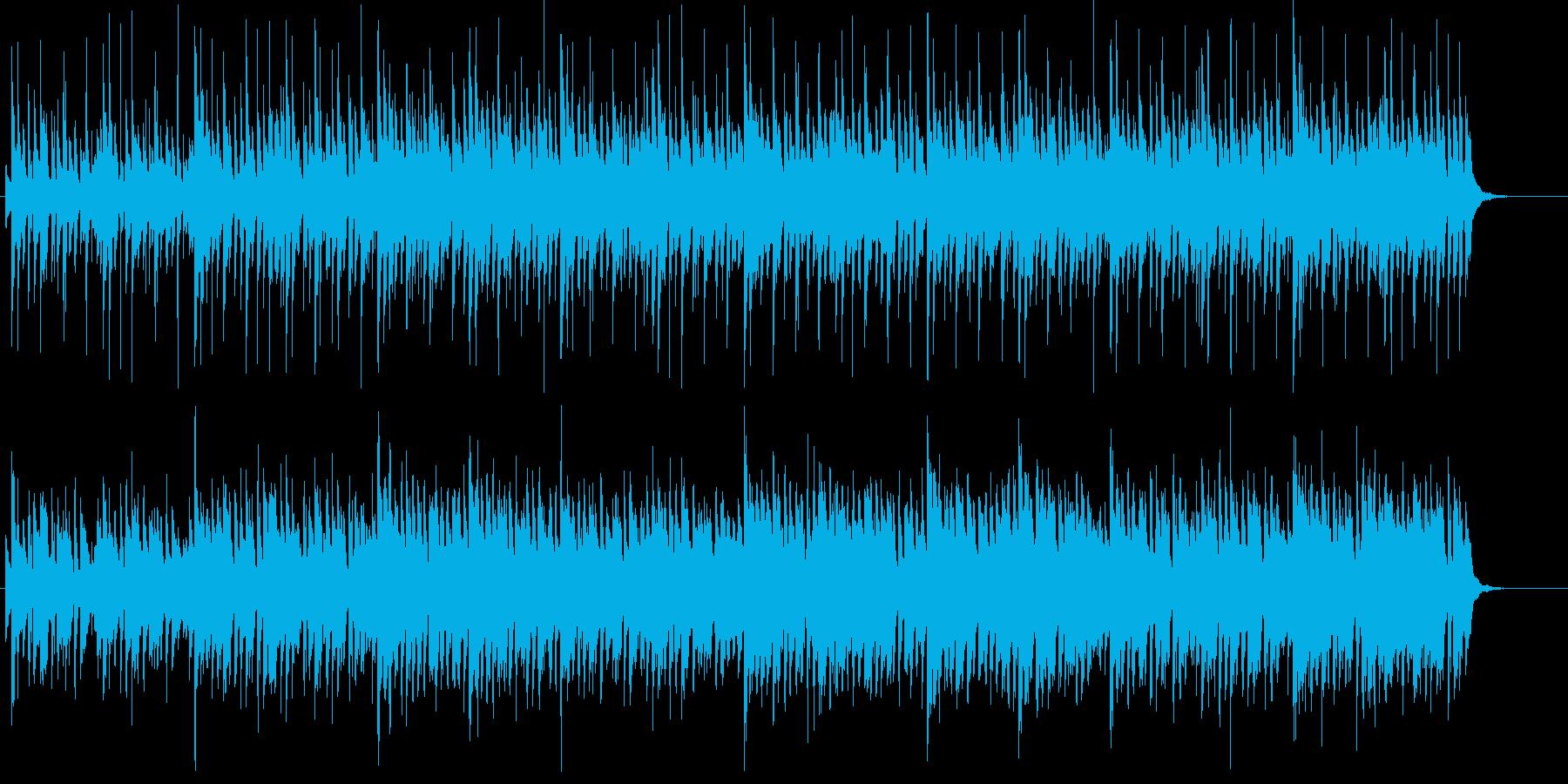 ハロウィンやミステリ向けの怪しげな旋律の再生済みの波形