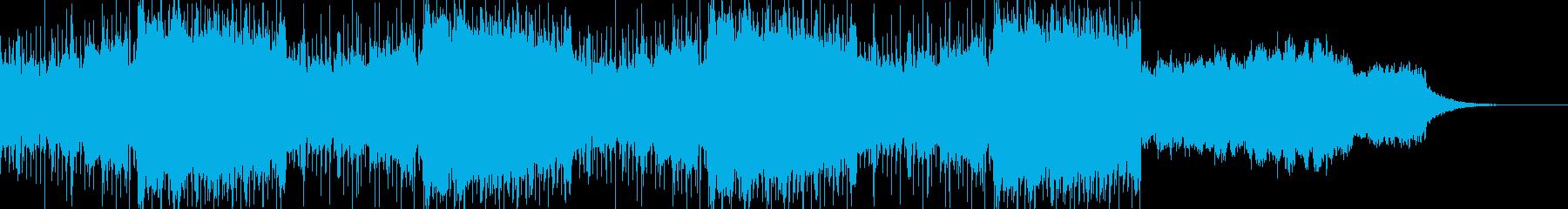インダストリアルなダークシンセ音_02の再生済みの波形